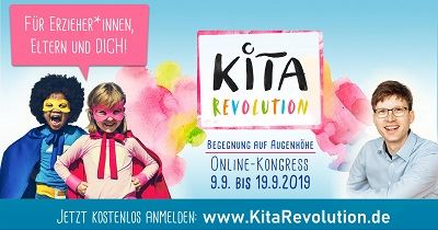 Kita Revolution Online-Kongress | Begegnung auf Augenhöhe