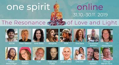 One Spirit Online Festival | The Resonance of Love and Light
