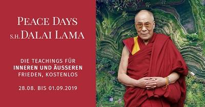 Peace Days mit Dalai Lama