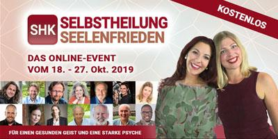 Selbstheilung & Seelenfrieden Online-Kongress