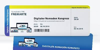 Digitaler Nomaden Online-Kongress | Top ortsunabhängiges Business