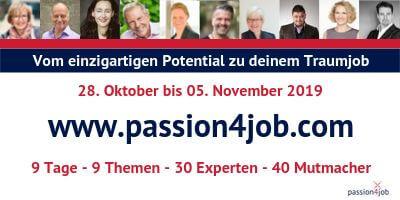 passion4job Online-Kongress | Traumjob für dein Potenzial