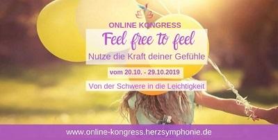 Feel free to feel Online-Kongress | Nutze die Karft deiner Gefühle