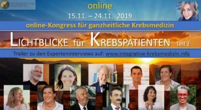 Lichtblicke für Krebspatienten Online-Kongress