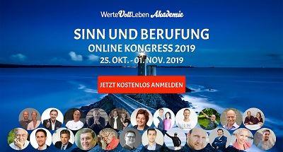 Sinn und Berufung Online-Kongress Header