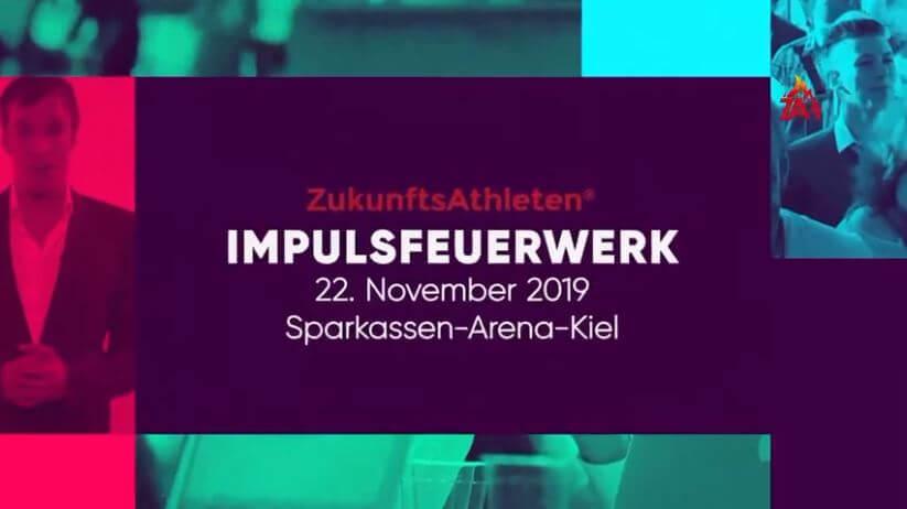 ZukunftsAthleten Impuls Feuerwerk in Kiel