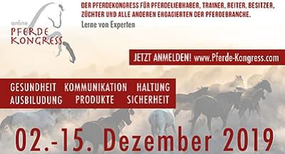 Pferde Online-Kongress | Gesundheit, Haltung, Sicherheit, Ausbildung
