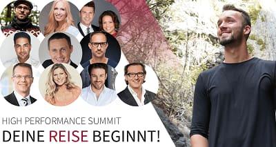 High Peformance Summit | Performance Strategien von Experten