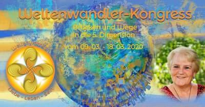 Weltenwandler Online-Kongress   Brücken und Wege in die 5. Dimension