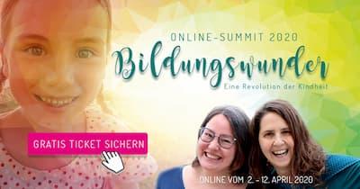 Bildungswunder Online-Kongress | Revolution der Kindheit