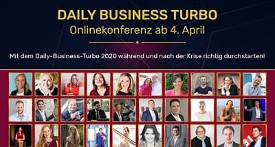 Business Turbo Onlinekonferenz | Tägliche Businessimpulse