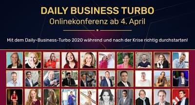 Business Turbo Onlinekonferenz | Tägliche Businessimpulse