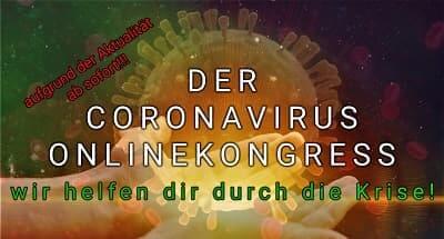 Coronavirus Online-Kongress   Gib der Angst keine Chance
