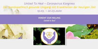 Homöopathischer  Coronavirus Online-Kongress   Gesund vorbeugen
