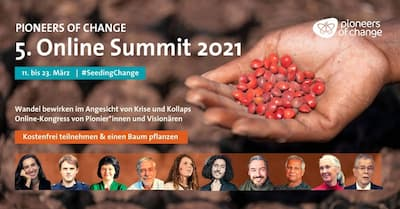 Pioneers of Change Online Summit   #SeedingChange