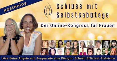 Schluss mit Selbstsabotage Online-Kongress Header