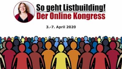 So geht Listbuilding Online-Kongress