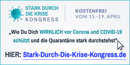 Stark-Durch-Die-Krise Online-Kongress | Ansteckung vermeiden