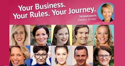 Your Business. Your Rules. Your Journey. Online-Kongress