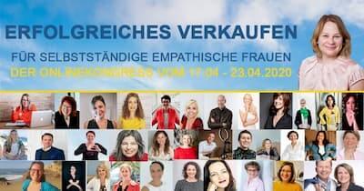 Erfolgreiches Verkaufen Online-Kongress | für empathische Frauen