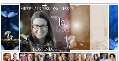 Missbrauch Online-Kongress | Sag Ja zu Dir!