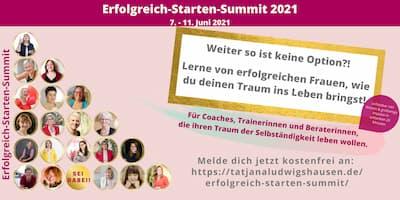 Erfolgreich starten Summit | Lerne was zählt