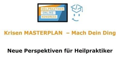 Heilpraktiker Online-Kongress | Masterplan neue Perspektiven