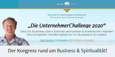 Unternehmer Challenge 2020   Business & Spirit