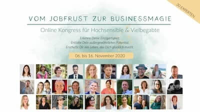 Vom Jobfrust zur Business Magie Online-Kongress