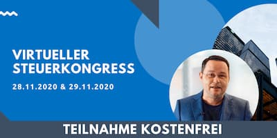 Virtuelle Steuerkonferenz   Für Unternehmer, Selbstständige und Gründer