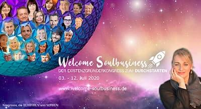Welcome Soulbusiness Online-Kongress