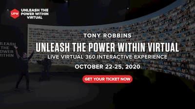 Unleash the power within Online-Kongress von Toni Robbins