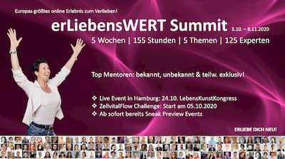 ErLiebensWERT Summit | Energetisiere Deinen ZellVitalFlow