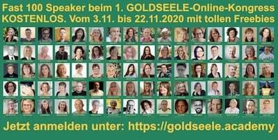 Goldseele Online-Kongress   Aus dem Herzen leben