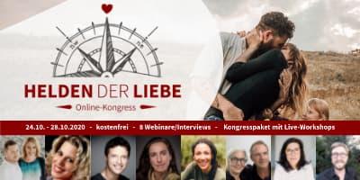 Helden der Liebe Online-Kongress | Der Beziehungskongress