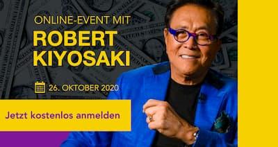 Robert Kiyosaki Online-Event | Sorgenfreies Leben im Ruhestand