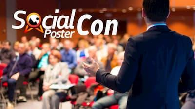 Social Poster Con Header