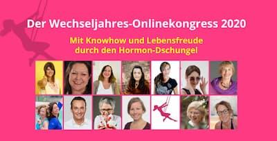 Wechseljahre Online-Kongress   Für clevere Frauen ab 40