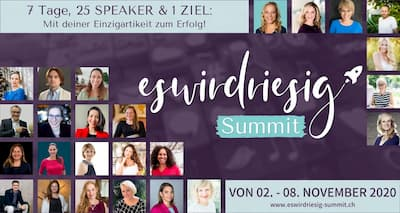 eswirdriesig Summit | analysiere dein Business