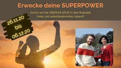 Erwecke deine Superpower Online-Kongress