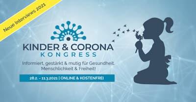 Kinder & Corona Online-Kongress Header