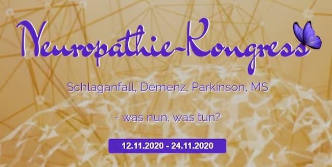 Neuropathie Online-Kongress   Schlaganfall, Demenz, Parkinson, MS