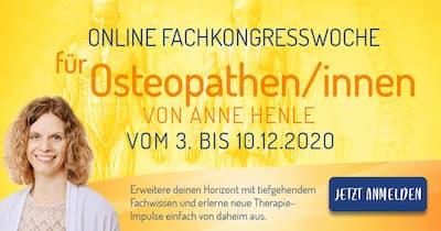 Online Fachkongress für Osteopathen