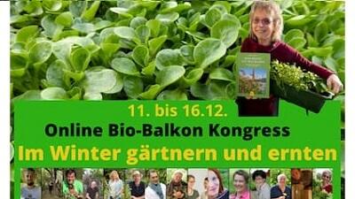 Im Winter gärtnern und ernten Online-Kongress