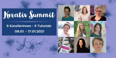 Kreativ Summit | Mixed Media, Art Journaling, Aquarell, ...