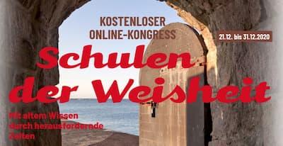 Schulen der Weisheit Online-Kongress Header