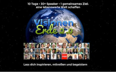 Vision Erde 2.0 Online-Kongress | Eine lebenswerte Welt schaffen