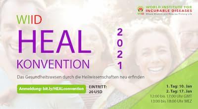 WIID HEAL Convention   Alternative Heilmethoden