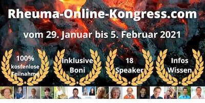 Rheuma Online-Kongress   Natürliche Rheumabehandlung