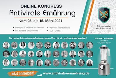 Antivirale Ernährung Online-Kongress   Prävention ist Dein Schutzschild